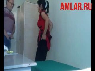 Узбекский секис  трахнул больную женщину в кабинете врача.
